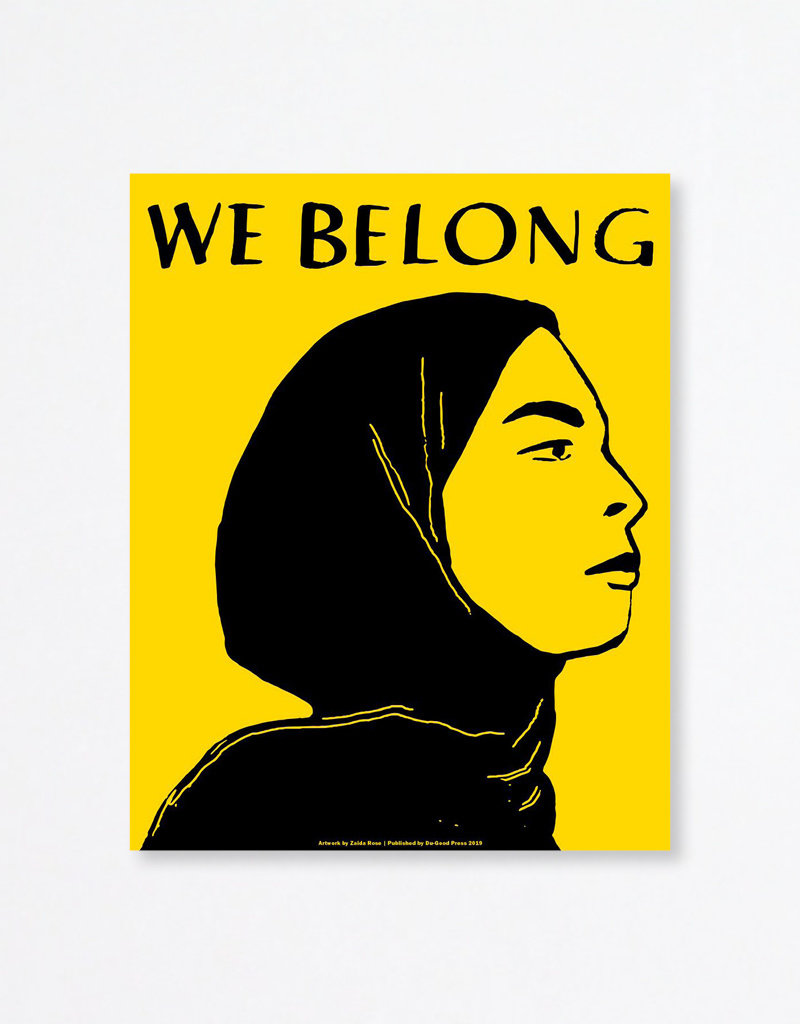 Du-Good Press We Belong by Zaida Rose - In Unity Poster