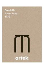 Artek Stool 60 Poster by Greige