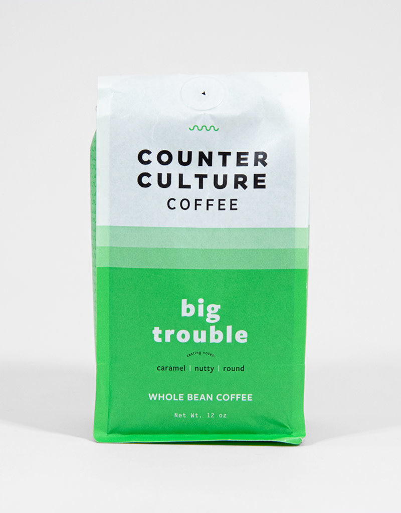Counter Culture Big Trouble Counter Culture Coffee 12 oz Bag