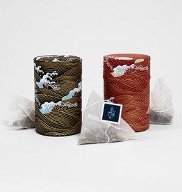 Rishi Rishi Tea  Canister and sachets set of two: Elderberry Healer &  Earl Grey Supreme