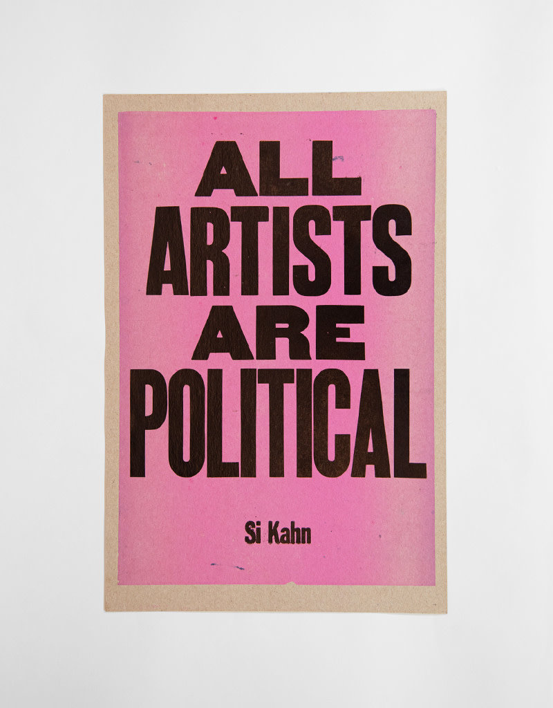 All Artist Are Political Poster