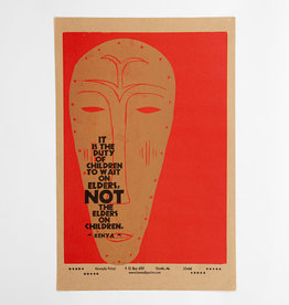 It is the Duty of Children Poster
