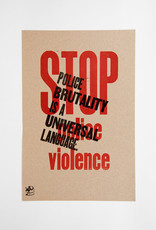 Stop Police Violence Poster