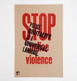 Stop Police Violence Poster