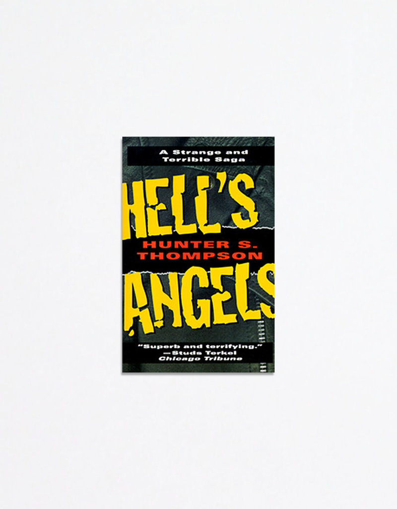 Ballentine Books Paperback: Hell's Angels: A Strange and Terrible Saga; Hunter S. Thompson