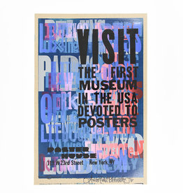 Amos Kennedy: Poster House Anniversary, 2021