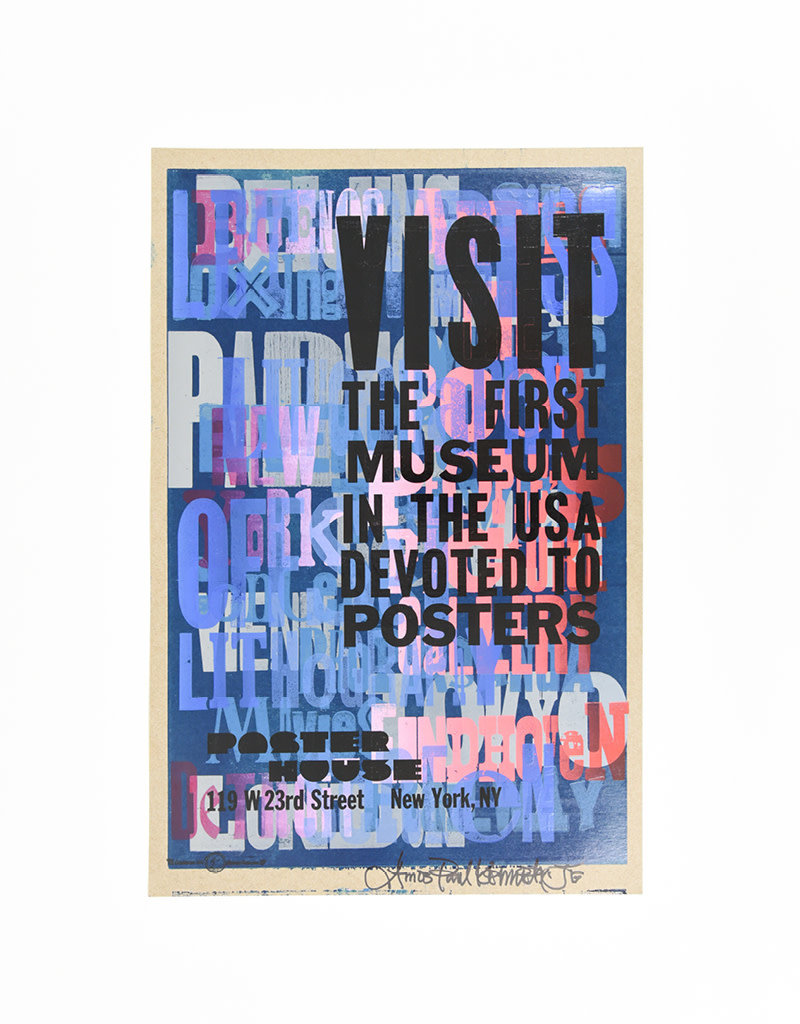 Amos Kennedy Poster House Anniversary Poster