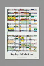 Milton Glaser Studio Milton Glaser: Sony Tape Full Color Sound, 1979
