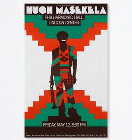 Milton Glaser Studio Hugh Masekela, 1967
