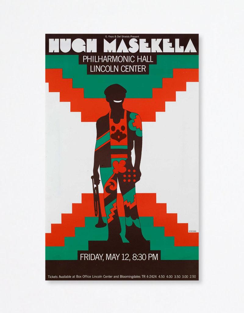 Milton Glaser Studio Milton Glaser: Hugh Masekela, 1967