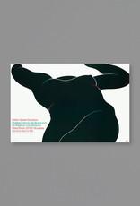 Milton Glaser Studio Black Foreshortened Nude, 1976