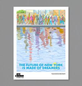 Ignacio Serrano Perez: The Future of New York Is Made of Dreamers, 2021