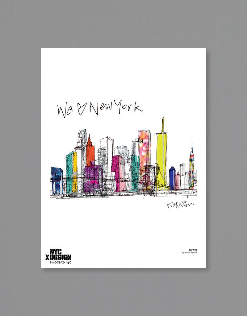 Karim Rashid: Our NYC, 2021, Multi