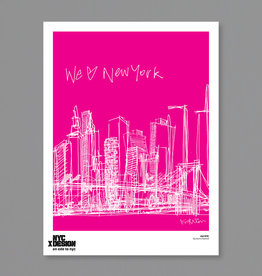 Our NYC, Pink - Karim Rashid