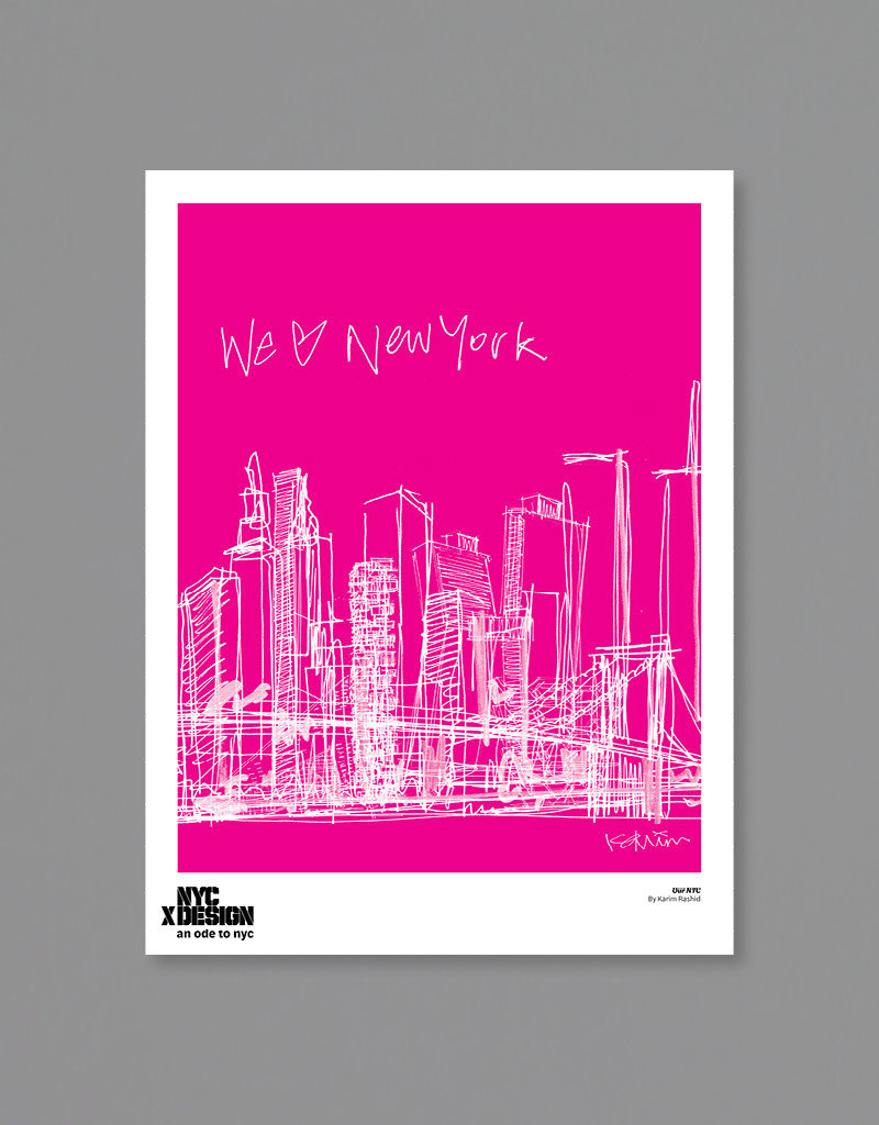 Karim Rashid: Our NYC, 2021, Pink