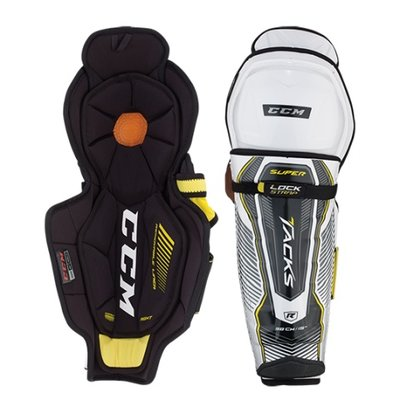 CCM CCM SUPER TACKS SHIN PADS JR