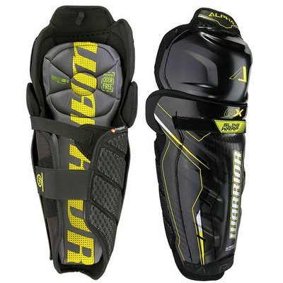 Warrior WARRIOR ALPHA QX SHIN PADS JR