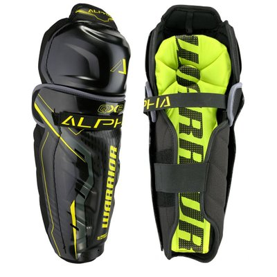 Warrior WARRIOR ALPHA QX3 SHIN PADS JR
