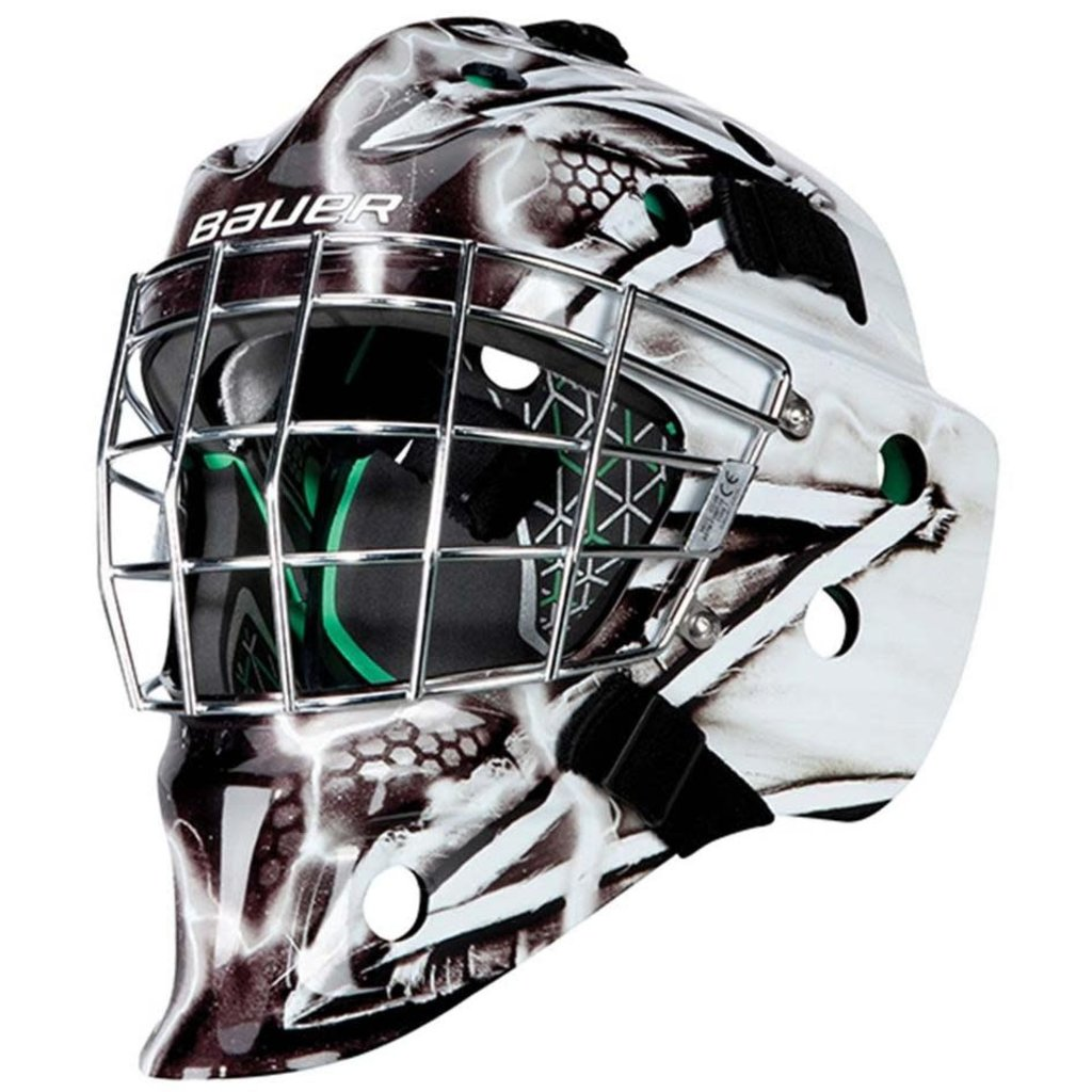 Bauer BAUER NME 4 GRAPHIC GOAL MASK YTH