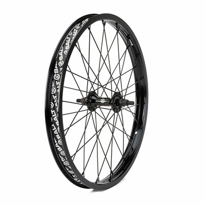 "Salt SALT ROOKIE FRONT WHEEL 18"" 10MM BLACK"