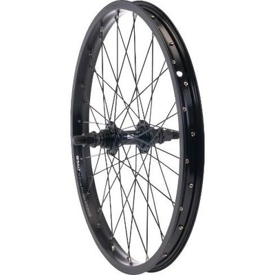 "SALT ROOKIE REAR WHEEL 18"" SEMI-SEALED BLK"