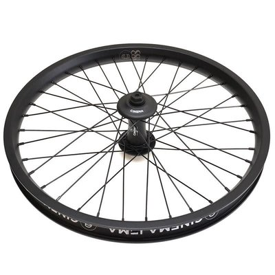 Cinema CINEMA 888 FRONT WHEEL 14MM W GUARDS BLK