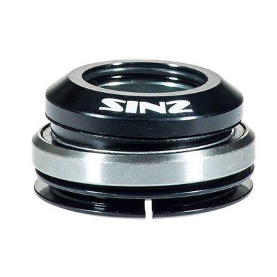 "Sinz SINZ INTEGRATED SEALED HEADSET 1-1/8"" BLACK"