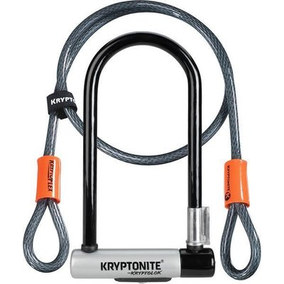 Kryptonite KRYPTONITE KRYPTOLOK STD U-LOCK W/ 4' CABLE