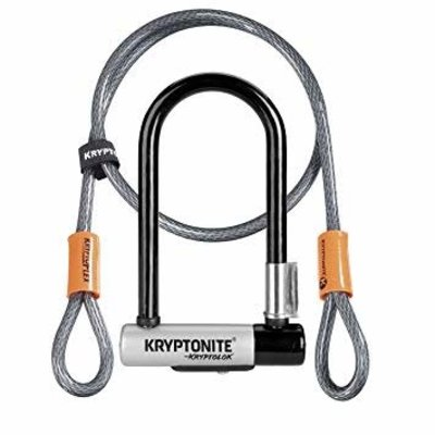 Kryptonite KRYTONITE KRYPTOLOK MINI 7 U-LOCK W/ 4' CABLE