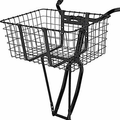 WALD #157-GB DELIVERY BASKET BLK