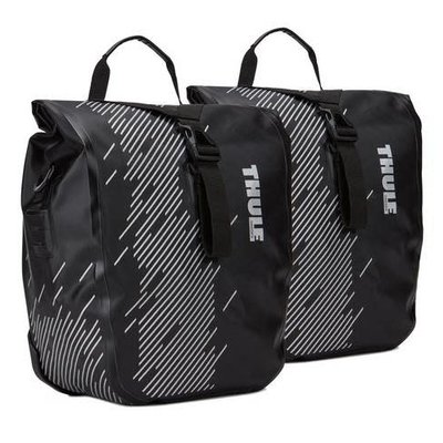 Thule THULE SHIELD PANNIER LARGE BLACK (PAIR)