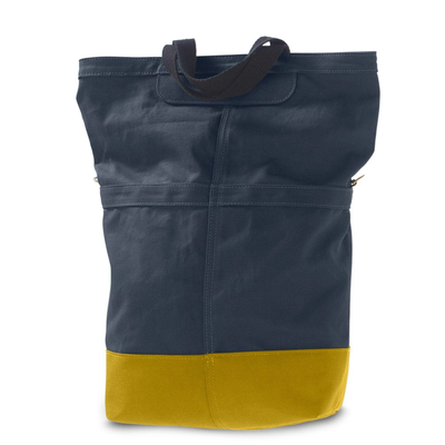 LINUS SAC PANNIER BAG NAVY/YELLOW