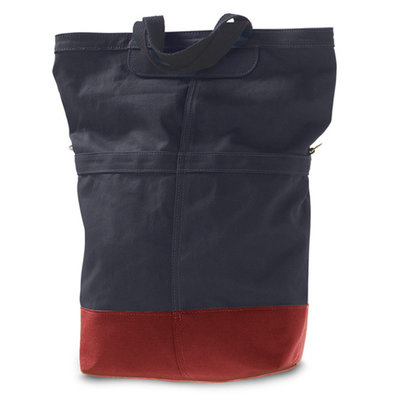 LINUS SAC PANNIER BAG NAVY/RED