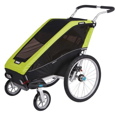 Thule 2020 THULE CHARIOT CHEETAH XT 1 CHILD CARRIER CHARTREUSE GREEN