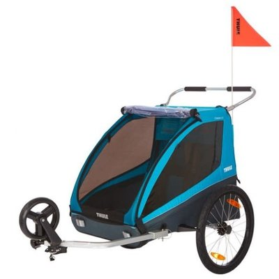 Thule 2020 THULE CHARIOT COASTER XT BIKE TRAILER BLUE