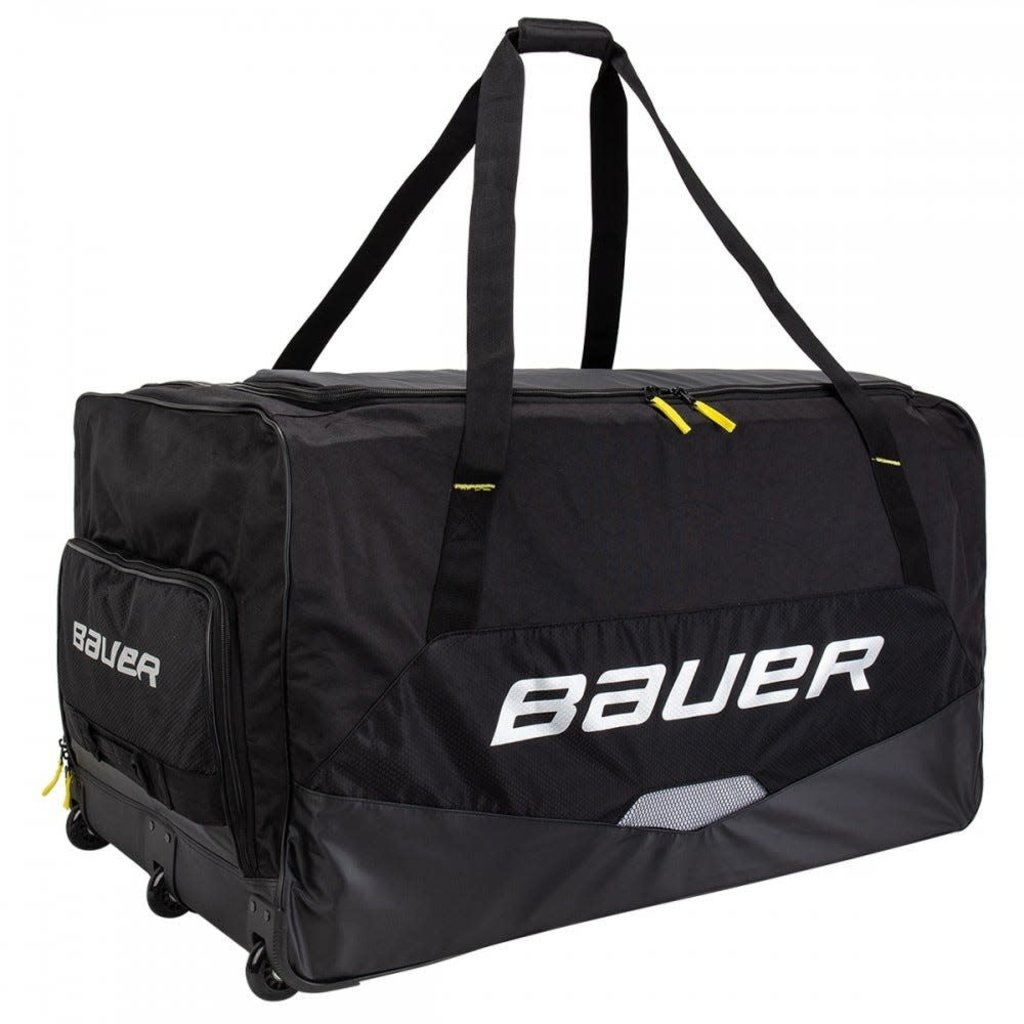Bauer BAUER PREMIUM WHEEL GOAL BAG SR BLK