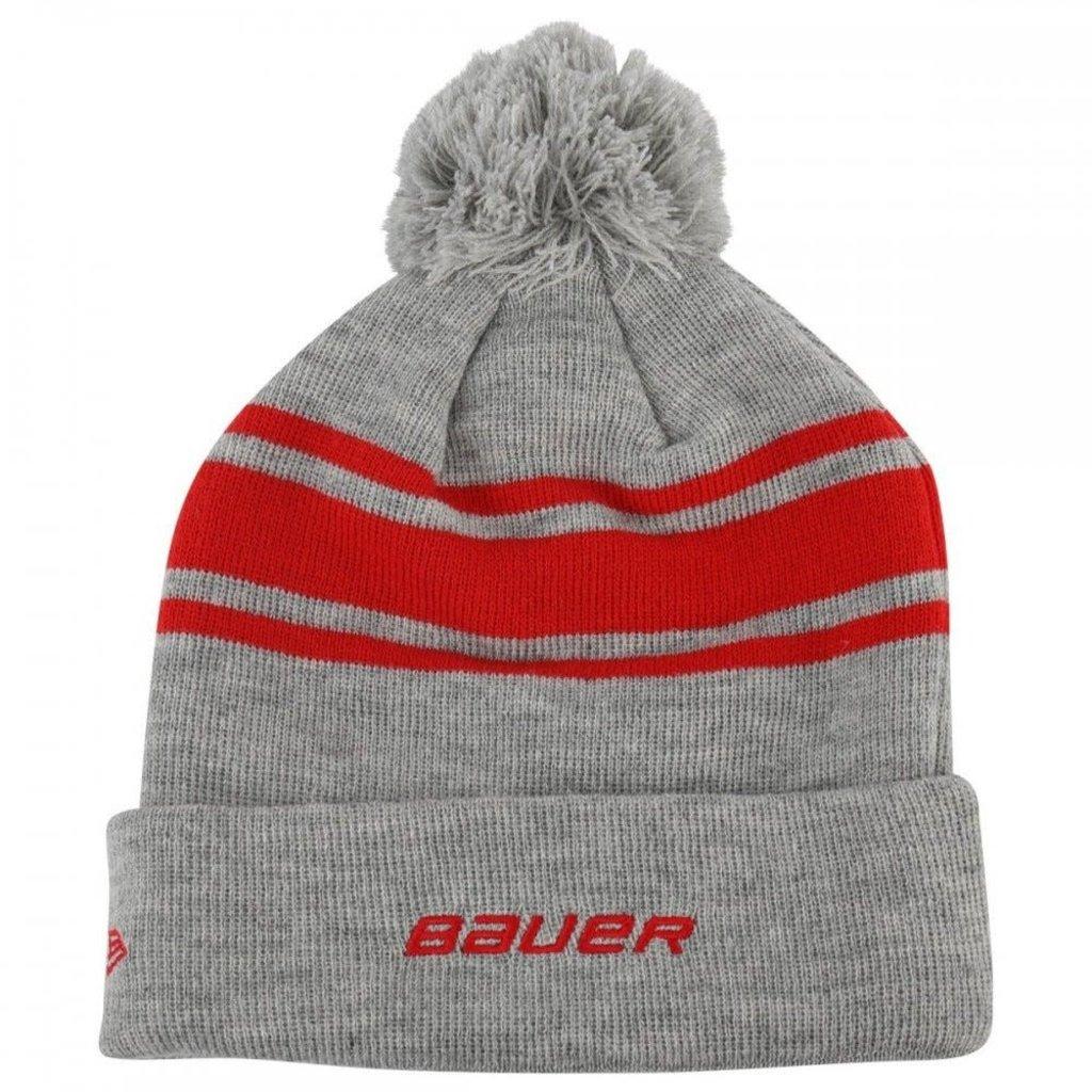 Bauer BAUER TEAM STRIPE POM POM TOQUE