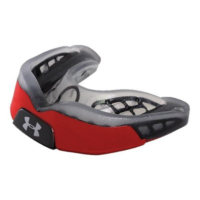 Under Armour UA  ANTIMICROBIAL ARMOUR BITE ADULT RED