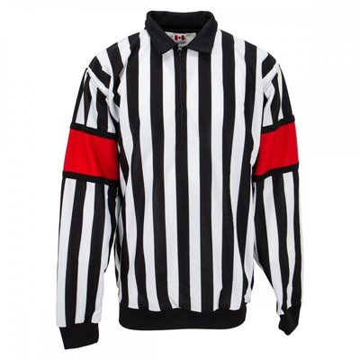 CCM CCM REF JERSEY PRO 150 W/ RED ARM BAND