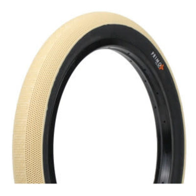 "Primo PRIMO RICHTER TIRE 20 X 2.40"" OFF WHITE/BLACK"