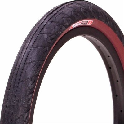 "Animal ANIMAL TOM WHITE TIRE 20 X 2.25"" MAROON"