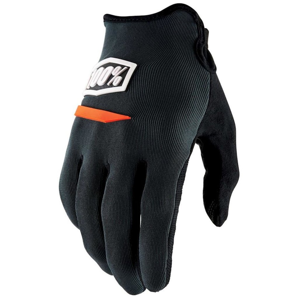 100% 100% RIDE CAMP GLOVE CHARCOAL