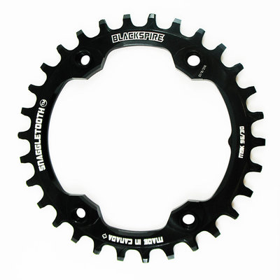 Blackspire BLACKSPIRE SNAGGLETOOTH CHAINRING 30T BLACK