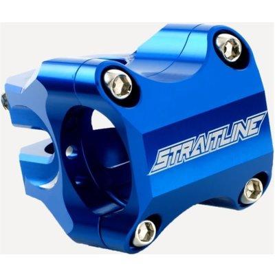 Straightline STRAIGHTLINE PINCH CLAMP STEM 50MM 31.8MM BLUE