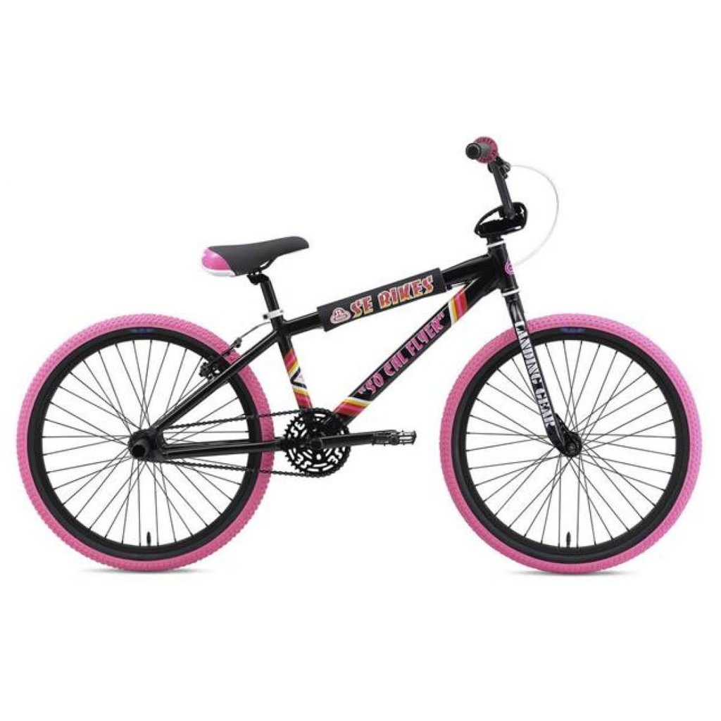 "SE BIKES 2020 SE BIKES SO CAL FLYER 24"" BLACK/PINK"
