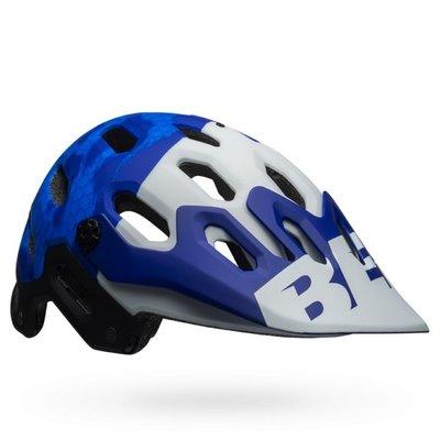 Bell BELL SUPER 3 MIPS MAT BLUE/WHT MED 55-59 CM (HELMET ONLY)