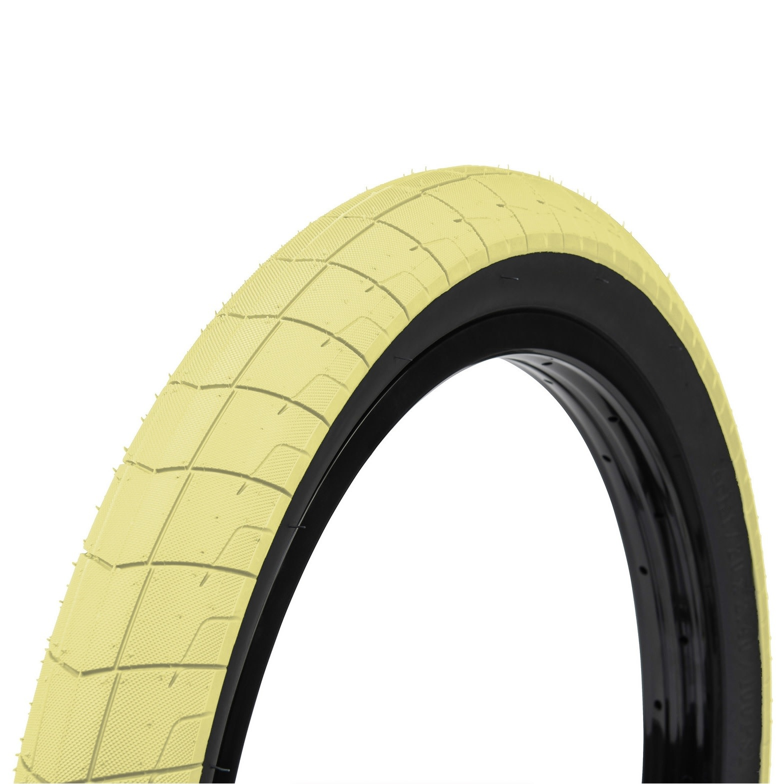 Eclat Eclat Fireball Tire 20 X 2 40 Pastel Yellow Sand B P Cycle And Sports