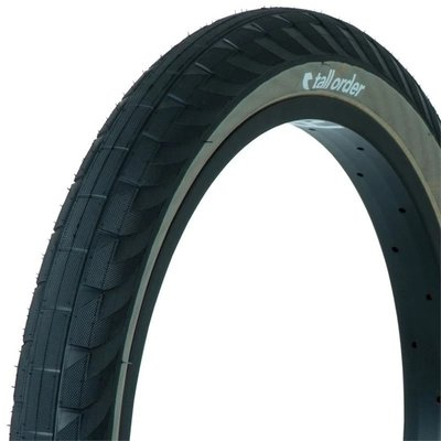 "Tall Order TALL ORDER WALLRIDE TIRE 2.3"" BLACK/TAN"