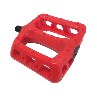 """Odyssey ODYSSEY TWISTED PC PEDALS 1/2"""" RED"""
