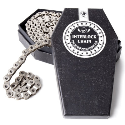 Shadow SHADOW V2 INTERLOCK HALF-LINK CHAIN SILVER